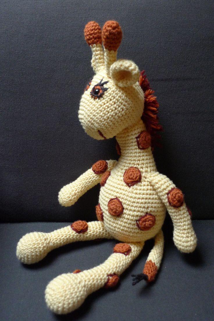Amigurumi crochet. Jirafa Oli