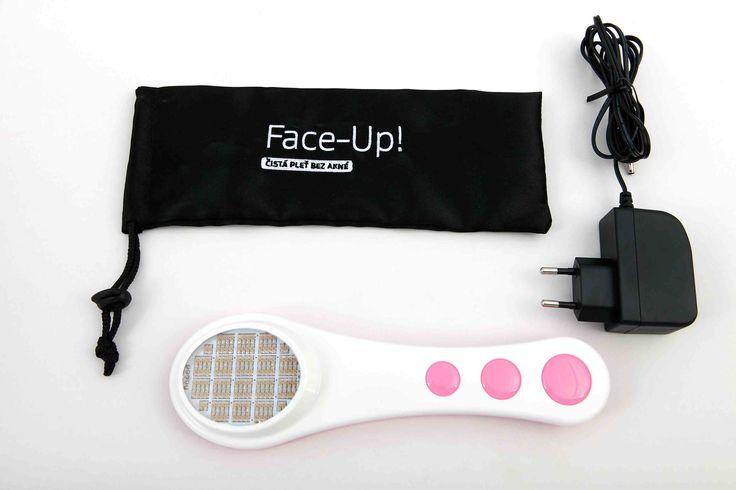 #Acne addio. Face-Up!, il nuovo dispositivo per una pelle senza acne. Il metodo innovativo studiato da medici ed esperti dopo dieci anni di studi e ricerche sovvenzionate  http://www.ilsitodelledonne.it/?p=18480