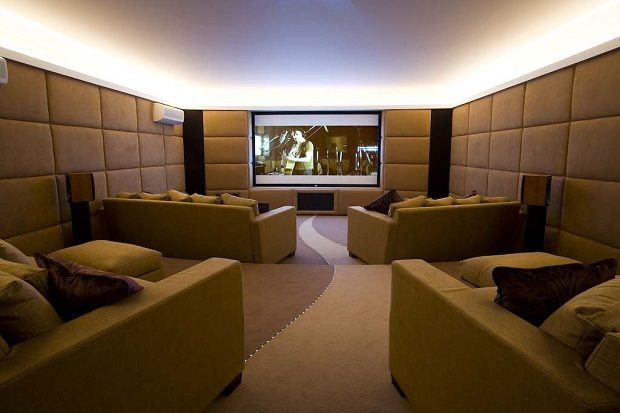 Home Cinema Interior Design Algarve Theatre