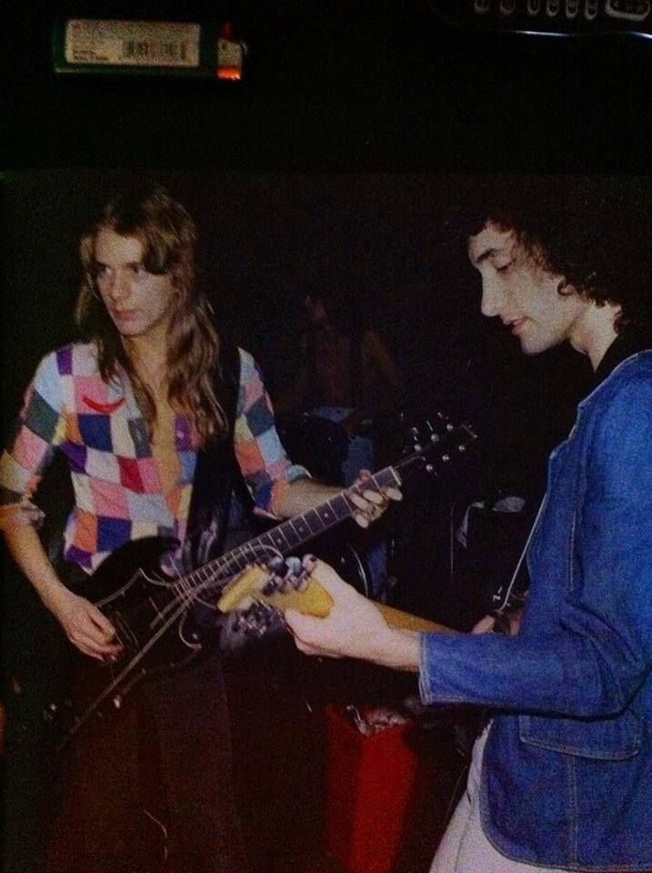 Randy Rhoads and Kevin Dubrow..........................