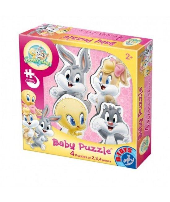 Colecția de puzzle-uri Baby Puzzle Looney Tunes este special conceputa pentru copii cu varste peste 2 ani.