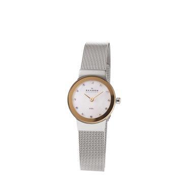 Skaagen two-tone watch. On my wish list!