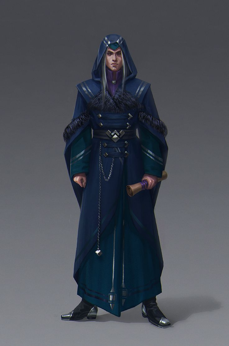 Mages man... that have to have this much fabric around them at all time. Because…