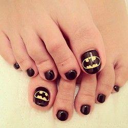 batman #nail #nails #nailart
