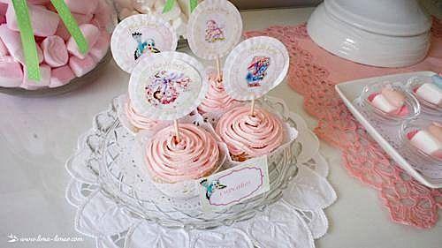Kara's Party Ideas Vintage Pink Baby Shower | Kara's Party Ideas