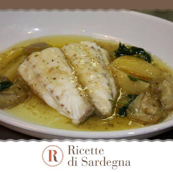 Una ricetta buonissima per esaltare il sapore delicato dell'orata sarda.  #Sardegna #ricetta #ricette #orata #patate #carciofi #foodphotography #food #foodgasm #foodlover