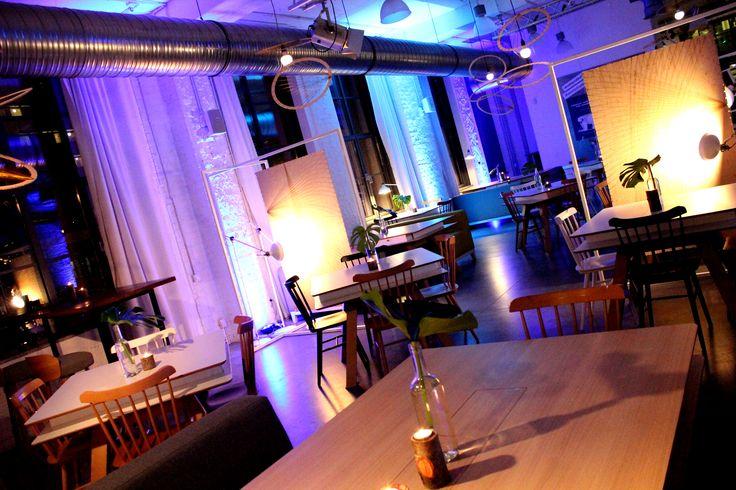 Concordia Taste, restauracja, industrialne wnętrze, aranżacja, event, industrial interior, design, restaurant