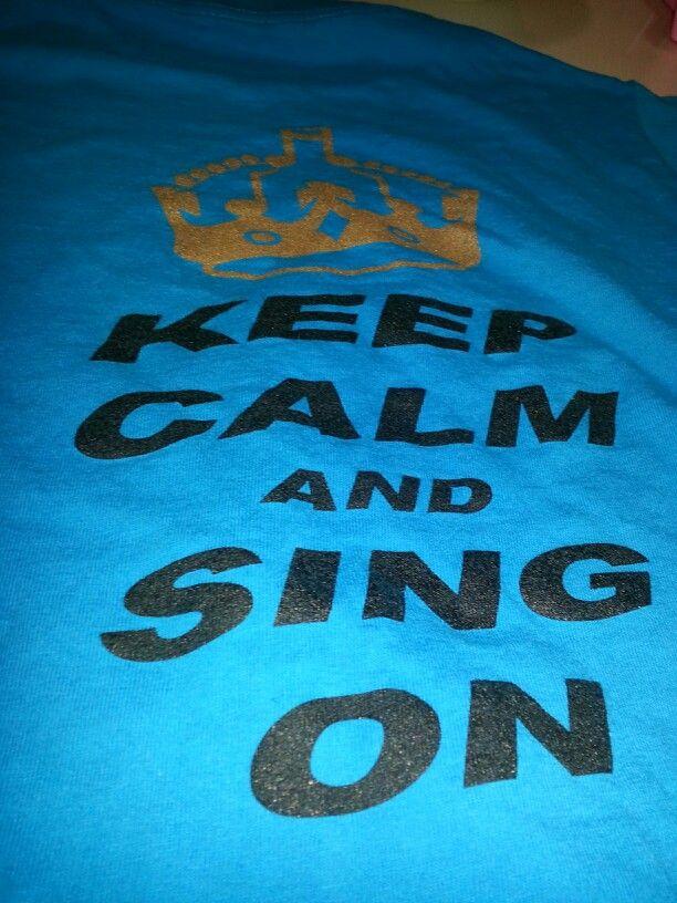 My choir shirt