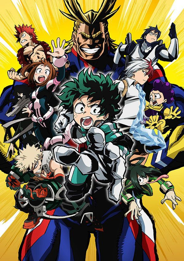 New My Hero Academia Promo Video & Visual Hit The Web by Mike Ferreira