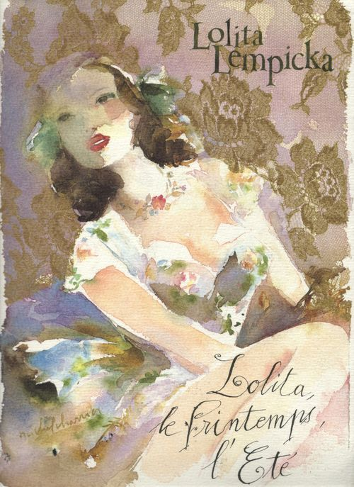 Water color fashion illustration by Lolita Lempicka: Love!! =)