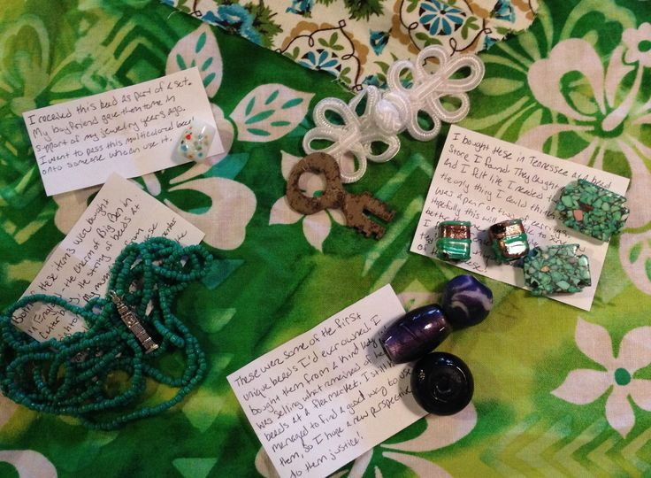 What a fabulous collection of beads! Thank you, Natalie. I will try to make you proud with what I make from them.