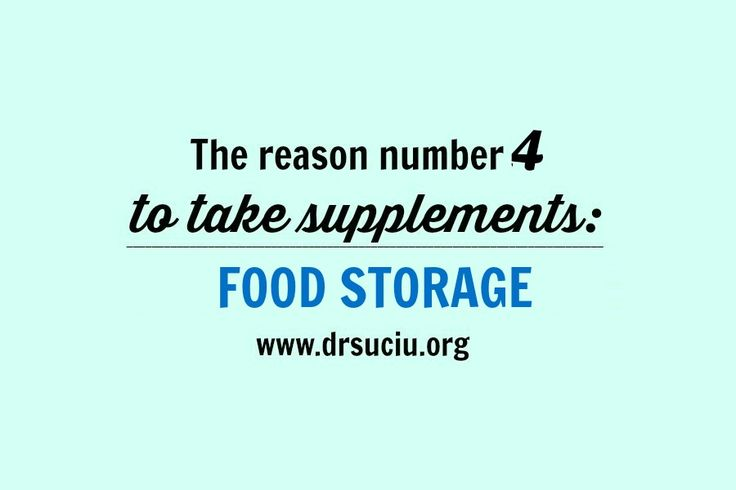 Picture drsuciu The 4th Reason You Need to Take Supplements