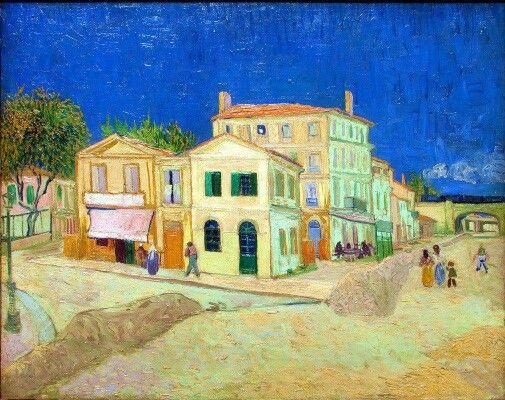 The wellow house  La casa gialla dipinta nel 1888 è un dipinto a olio su tela realizzato da Van Gogh.  È  conservato nel Van Gogh Museum di Amsterdam. Il soggetto è uno scorcio di Arles città nel dipartimento delle Bocche del Rodano, dove Van Gogh prese in affitto la casa ritratta in attesa dell'amico Paul Gauguin,  con il quale avrebbe dovuto creare un circolo di artisti. Nell'estrema sinistra della tela s'intravede la piazza Lamartine, sede del Caffè  più volte da lui ritratto.
