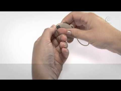 032 - How to change the earhooks of the Cochlear Nucleus 6 Sound Processor - YouTube