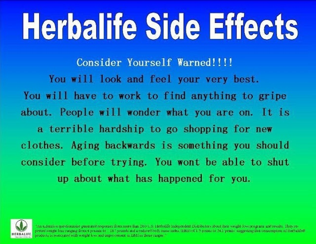 Herbalife: Herbalife Side Effects