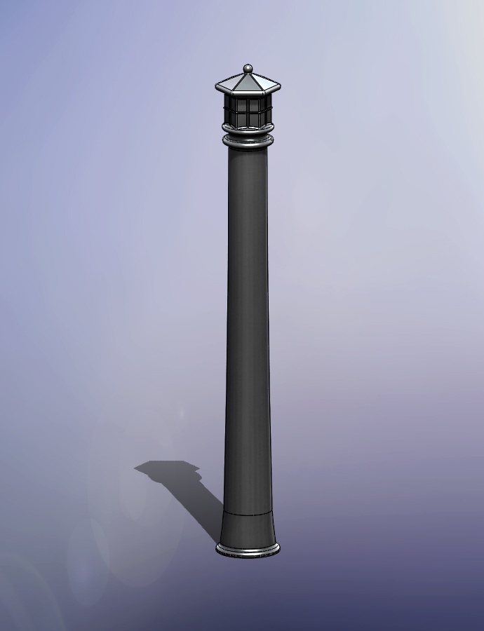 The Sig Bollard. A great edition to any landscape