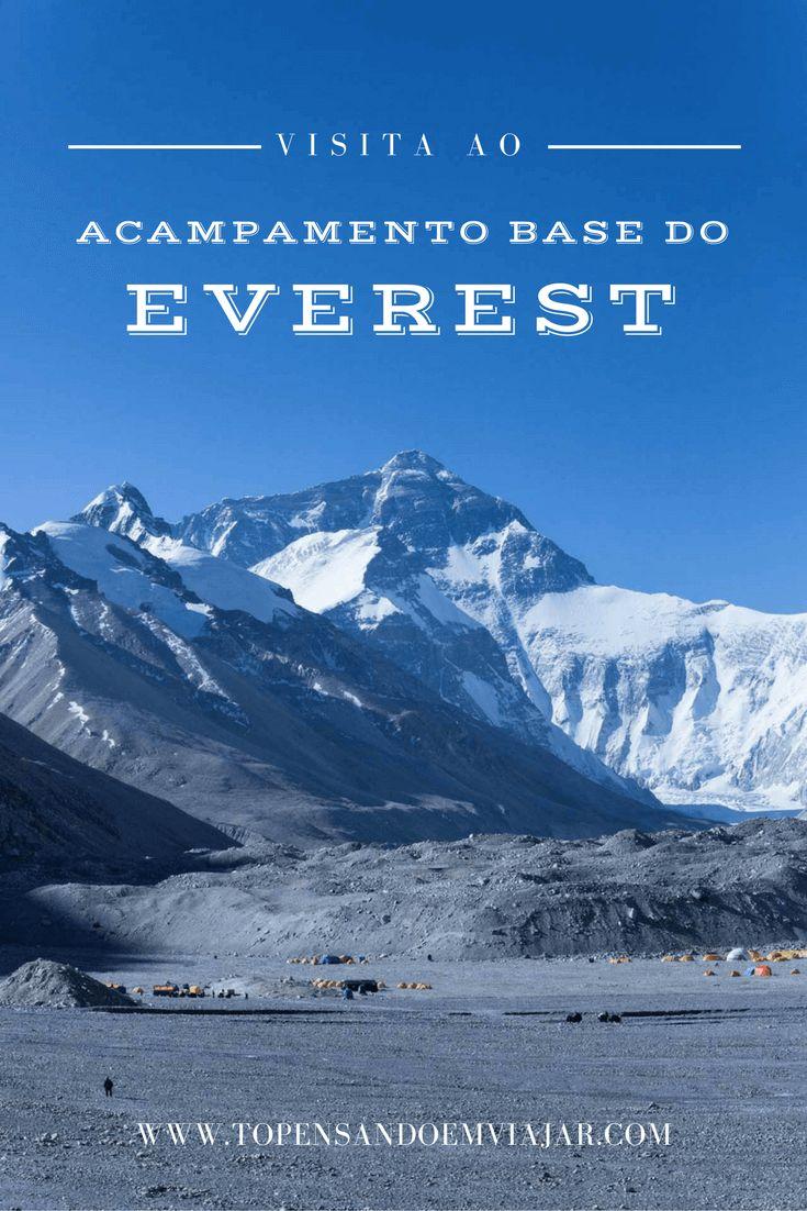 Saiba como foi a nossa visita ao Acampamento Base do Everest no Tibet, a 2.250 metros acima do nível do mar.