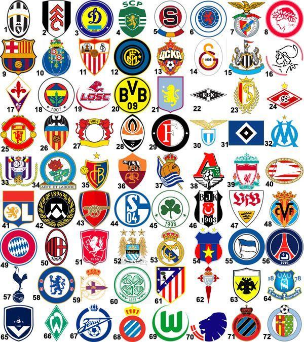 Image Result For Football Team Logos Football Team Logos Football Logo World Football