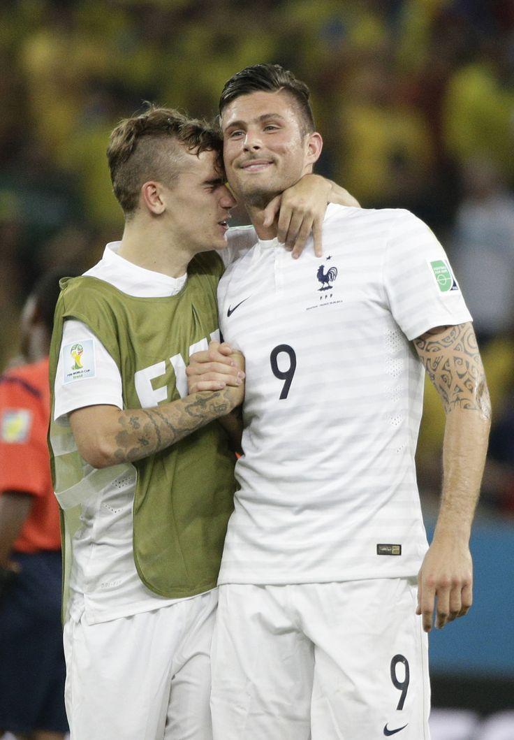 Antoine Griezmann and Olivier Giroud