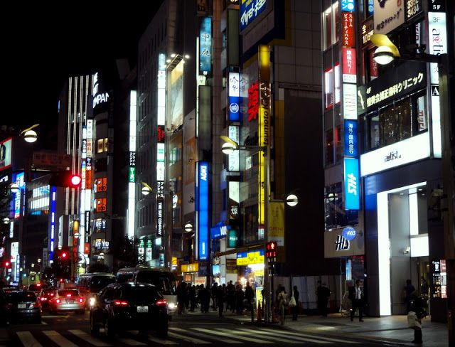 Travel and Lifestyle Diaries Blog: Tokyo, Japan: Coloured Urban Jungle of Shinjuku at Night
