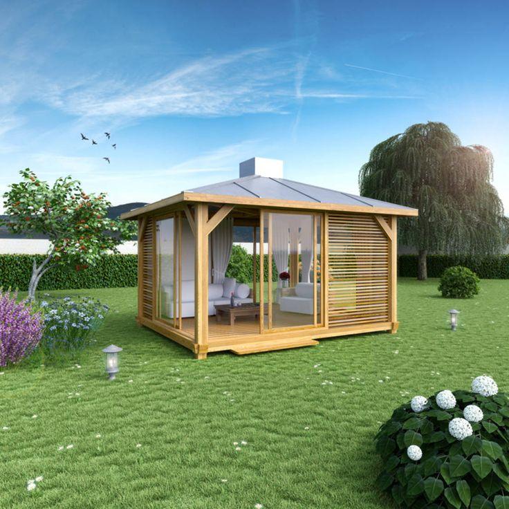 Abri de jardin OUTZEN : Greenhouses & pavilions by EXTAZE OUTDOOR