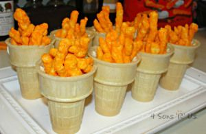 4 Sons 'R' Us: edible olympic torches--Fun, fast Olympic-themed treats your kids will love.