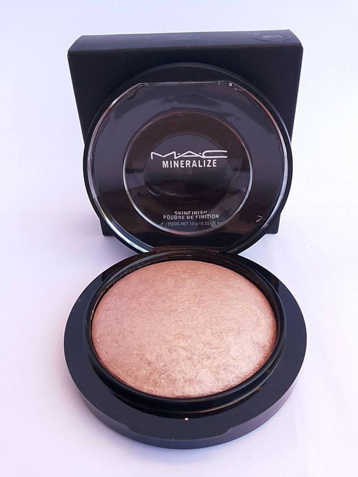 mac - iluminador mineralize soft and gentle - maquiagem mac