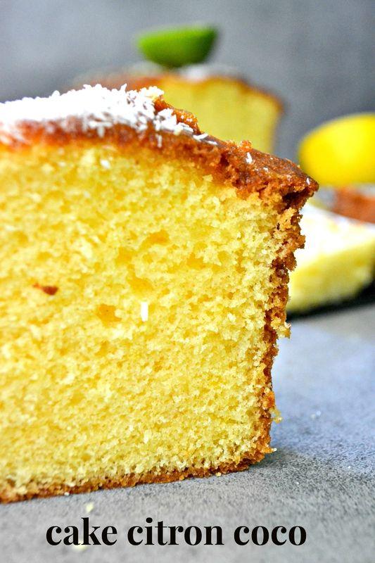 Cake au Citron & Coco