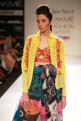Richa Agarwal Designer Lakme Fashion Week Winter/Festive 2012 Day-1 | Gen Next Designer on LFW-2012 | Fashion Asian
