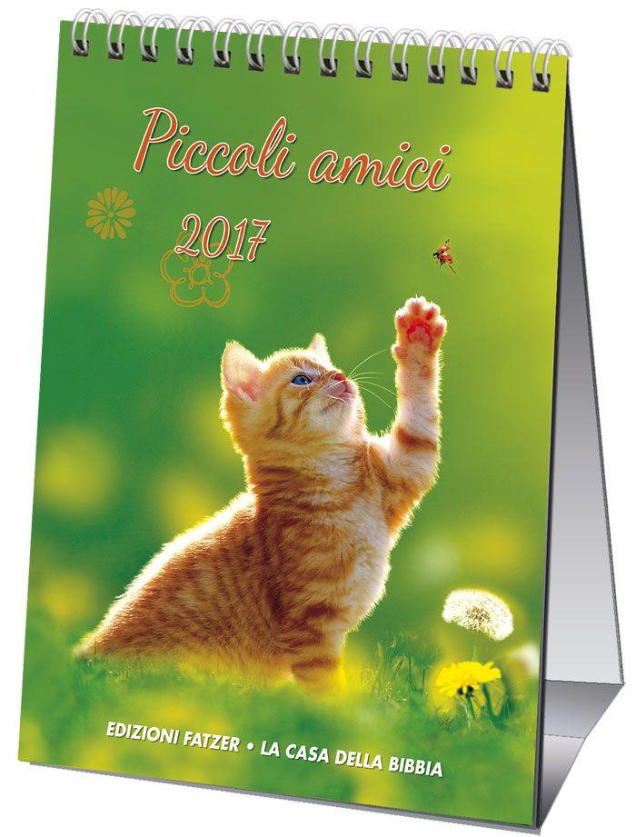 Questo calendario con fotografie di animali selvatici e domestici è concepito in particolar modo per il mondo dei bambini, ma potrà essere apprezzato anche dagli adulti. 12 foto con testi biblici...
