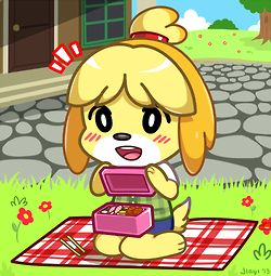 Animal Crossing Isabelle