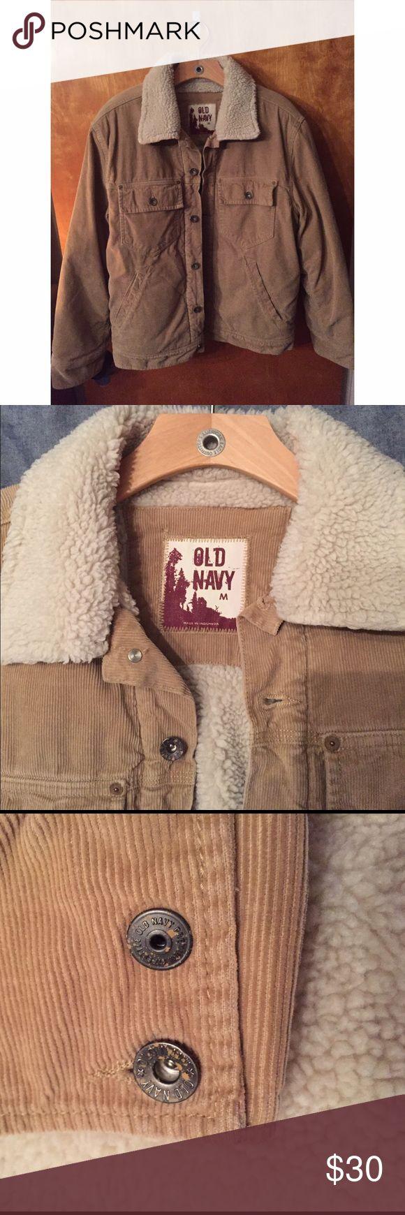 Mens gloves old navy - Old Navy Men S Corduroy Faux Sheepskin Jacket