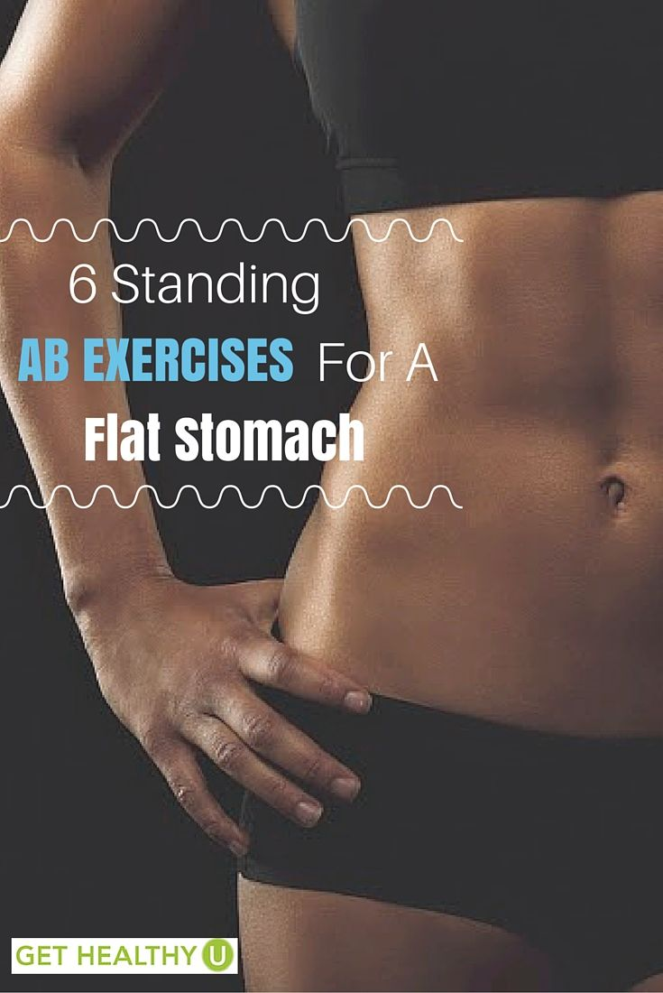6 Standing Ab Exercises For A Flat Stomach