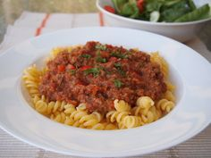 Healthy thermomix bolognese sauce