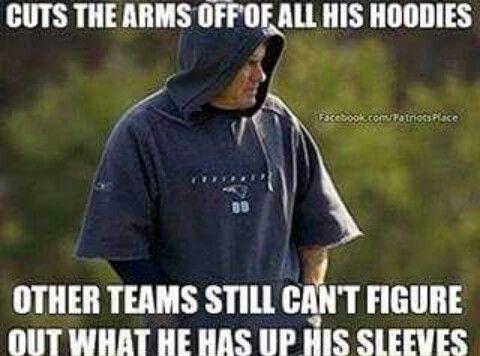Keep em guessin Bill!