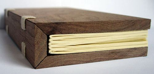 Salvaged wood covers. Brilliant.