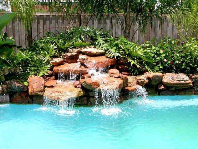 Signature Pools of Texas custom waterfalls will always add that special touch to your pool.