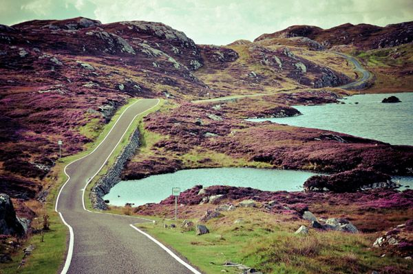 The Golden Road Location: Isle of Harris, Outer Hebrides, Scotland, UK