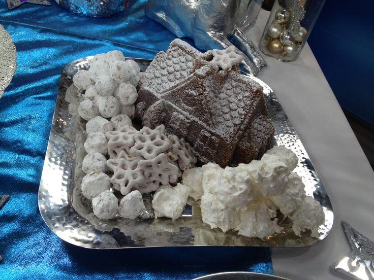 White Christmas Sweet platter.