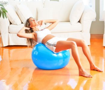 Cvičenia pre ženy v domácom prostredí