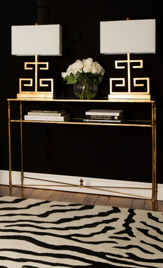 Luxury narrow console table ! Discover more: modernconsoletables.net | #goldconsoletable #narrowconsoletable #modernconsoletables