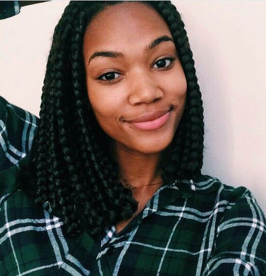 Cute Braids For Short Natural Hair