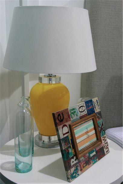 Yellow Bella Lamp
