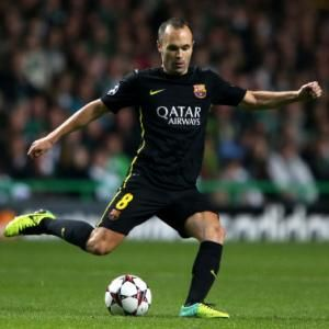 Spanish international Andres Iniesta has agreed to extend his Barcelona contract until at least 2018, the club said Thursday. - #Football #Soccer #FCB #Barcelona #Iniesta #LaLiga