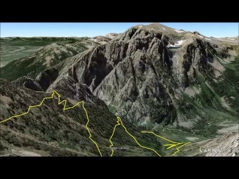 Google Earth Narration of Static Peak Hike - GTNP