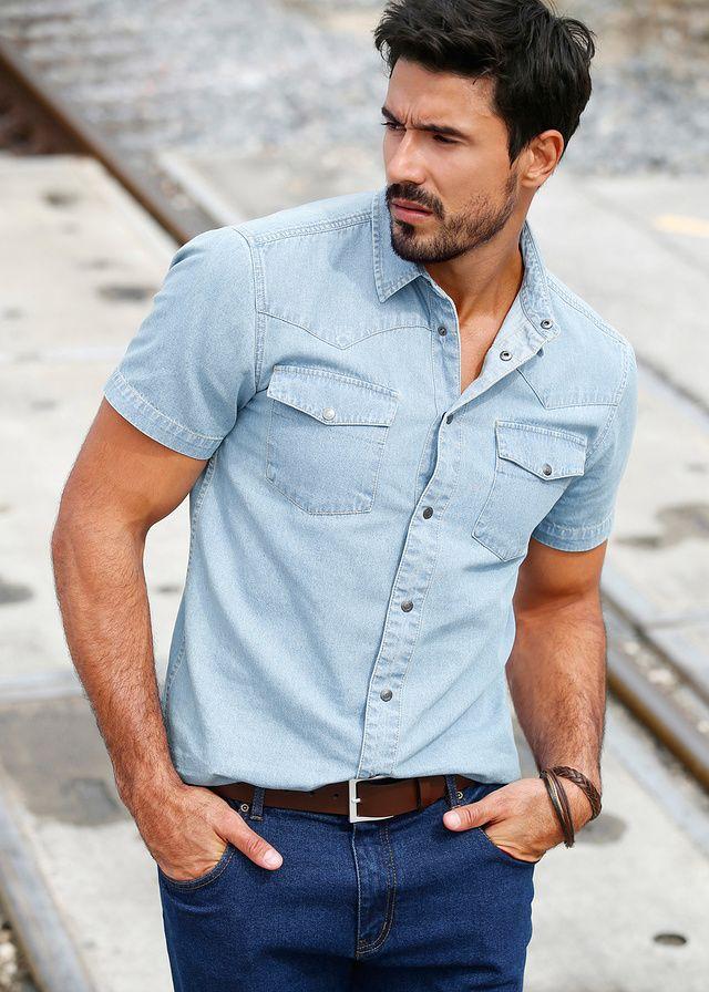 Koszula dżinsowa Slim Fit Klasyczna • 79.99 zł • bonprix