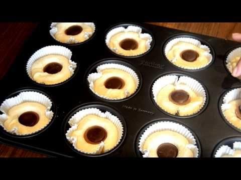 Schoko Muffins mit flüssigem Nutella Kern | Schnelle & Saftige Schokoladenmuffins - CUISINI - YouTube
