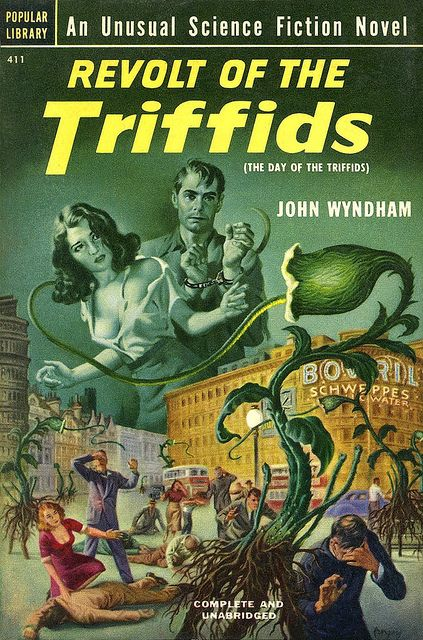 Revolt of the Triffids by vintageillu, via Flickr - Cover art: Earl Kulp Bergey