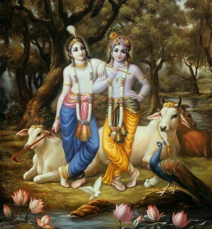 Balaram and Krishna