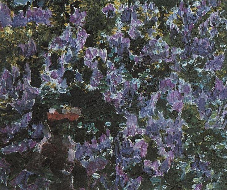 Lilas, huile sur toile de Mikhail Vrubel (1856-1910, Russia)